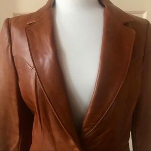 NWT Vintage Stetson Western Genuine Leather Jacket